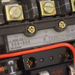 Allen Bradley Reversing Motor Starter Wiring Diagram Hei Distributor Rev Limiter Bulletin 500 Contactor Abortion