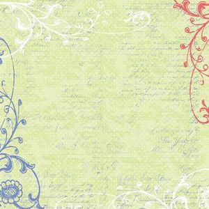 Melonberry 12x12 Paper - Creative Imaginations