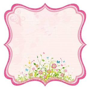 Bella Journal Pink Diecut Paper - Best Creation