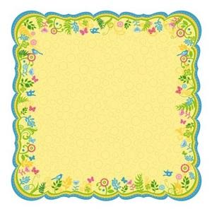 Bella Journal Yellow Diecut Paper - Best Creation