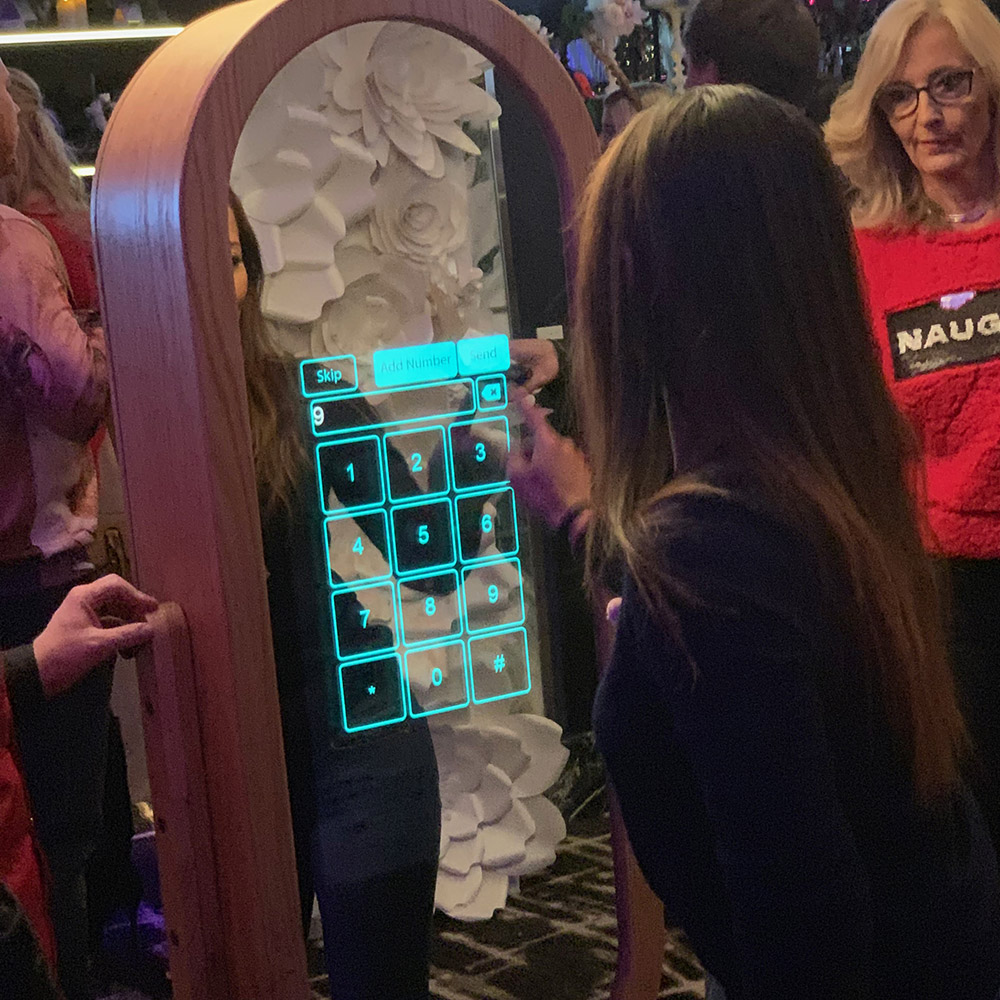 Sb Interactive Photo Studios Magic Mirror Photo Booth