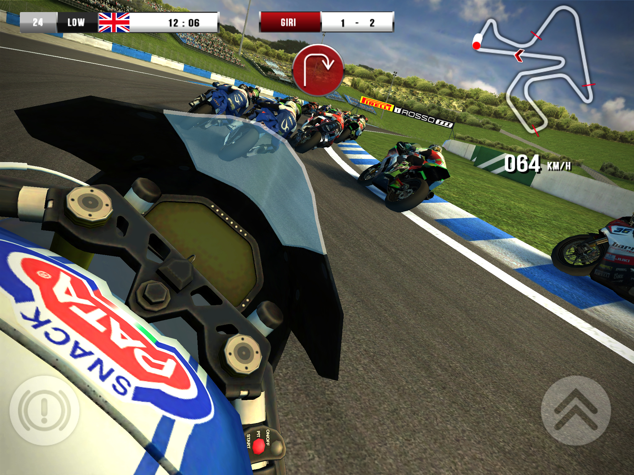 Motobike SBK15 Mobile Game