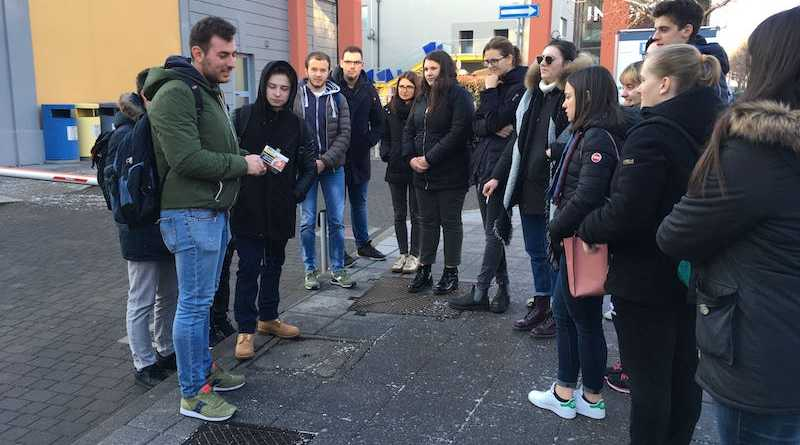visita al politecnico da parte dei ragazzi del liceo Bonsignori