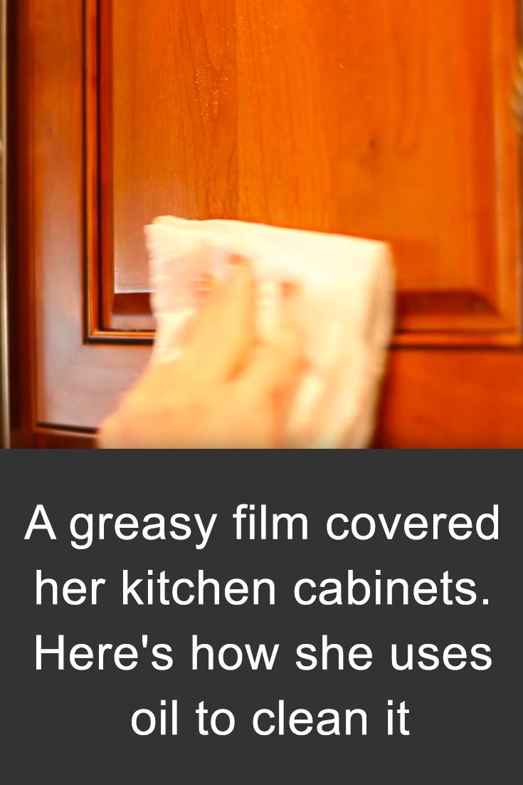 Remove Grease From Kitchen Cabinets With This Common Item