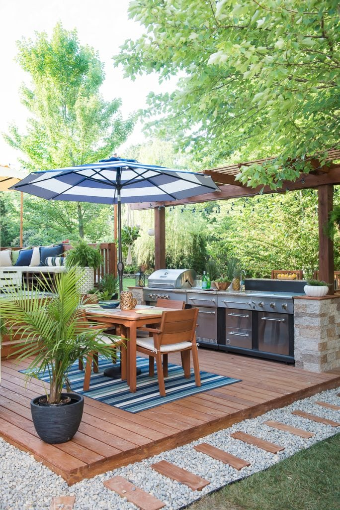 15 Diy Outdoor Kitchen Plans That Make It Look Easy