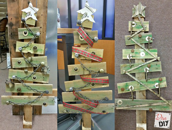 60 Ways To Turn A Plain Pallet Into Something Beautiful This Christmas