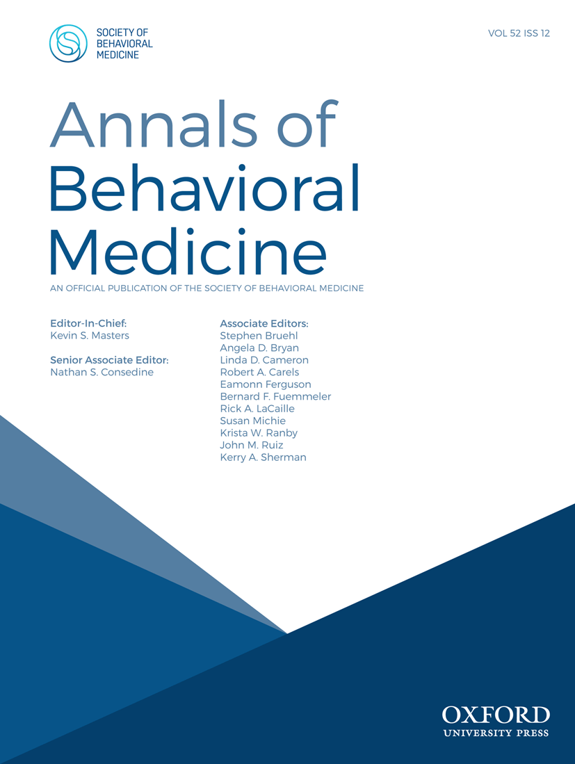 Executive Editor Cover Letter Be The Next Abm Editor Sbm Society Of Behavioral Medicine