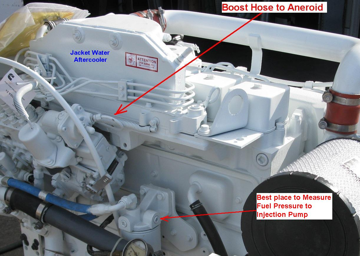 Ac Delco Alternator Wiring 6bta Jwac Boost Hose To Aneroid Amp Measuring Fuel Pressure