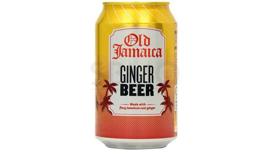 Old Jamaica Ginger Beer Gyömbér sör Dobozos 0.33 L