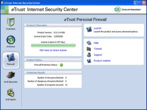 eTrust Internet Security Suite - 6