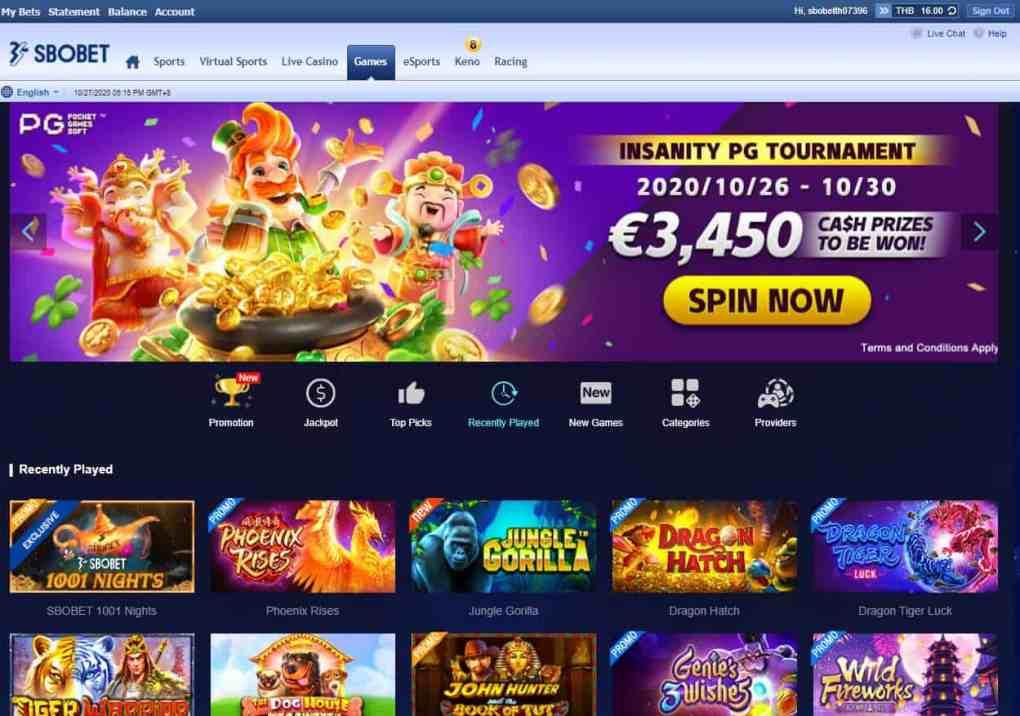 Sbobet Slot Online