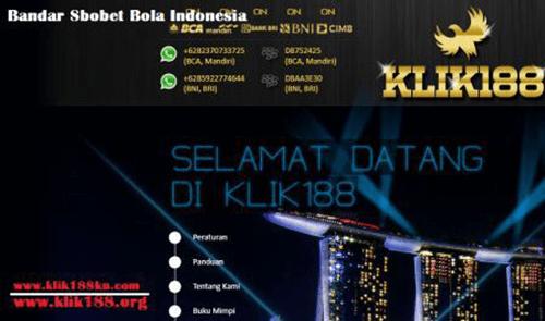 Bandar Sbobet Bola Indonesia