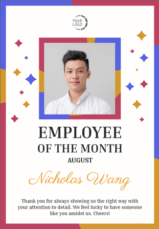 employee of the month certificates