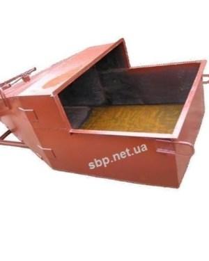 Бункер для бетона / бадья для бетона «Туфелька»(лапоть) БП 1,0 м3