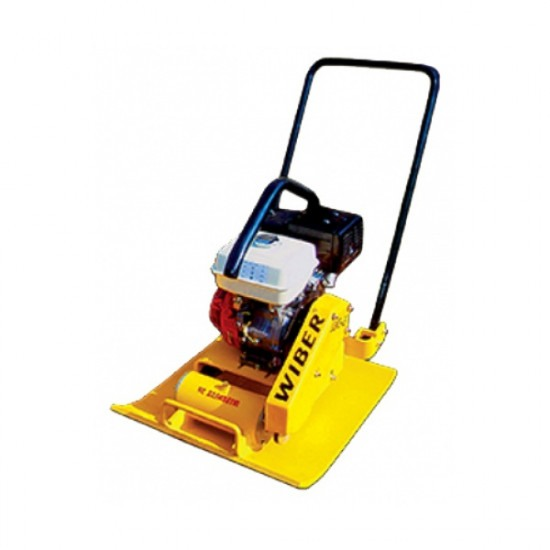 Виброплита бензиновая WIBER UGMS-27 (25м/мин.,650х800;дв.Honda;200кг)