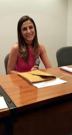 Coordenadora da mesa Raquel Rios (candidata-SPMG)