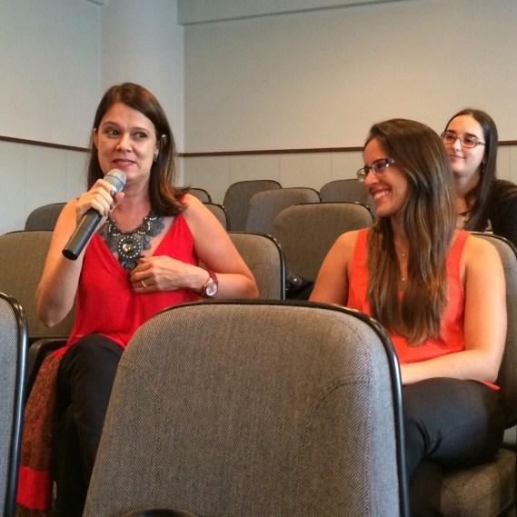 Comentário da plateia: Sandra Tavares (candidata em formação da SPMG)