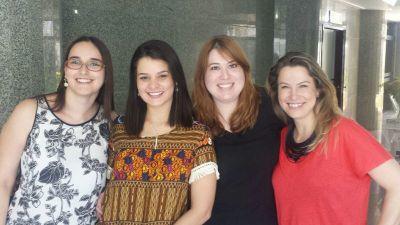 Conselheira Fiscal da Diretoria 2016: Kátia Amaral. Diretoria da Associação de Candidatos 2016: Renata Guimarães (secretária), Cecília Cruvinel (tesoureira) e Daniela Bisewski (presidente).