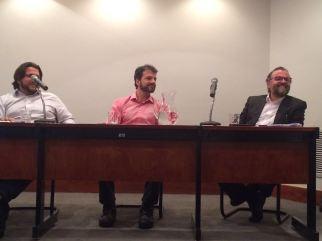 Lucas Santos, Eduardo Ribeiro e Guilherme Cabral