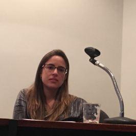 Mirelle Biaggi Alvarenga (psicóloga e candidata da SPMG)sicólogo e candidato da SPMG)