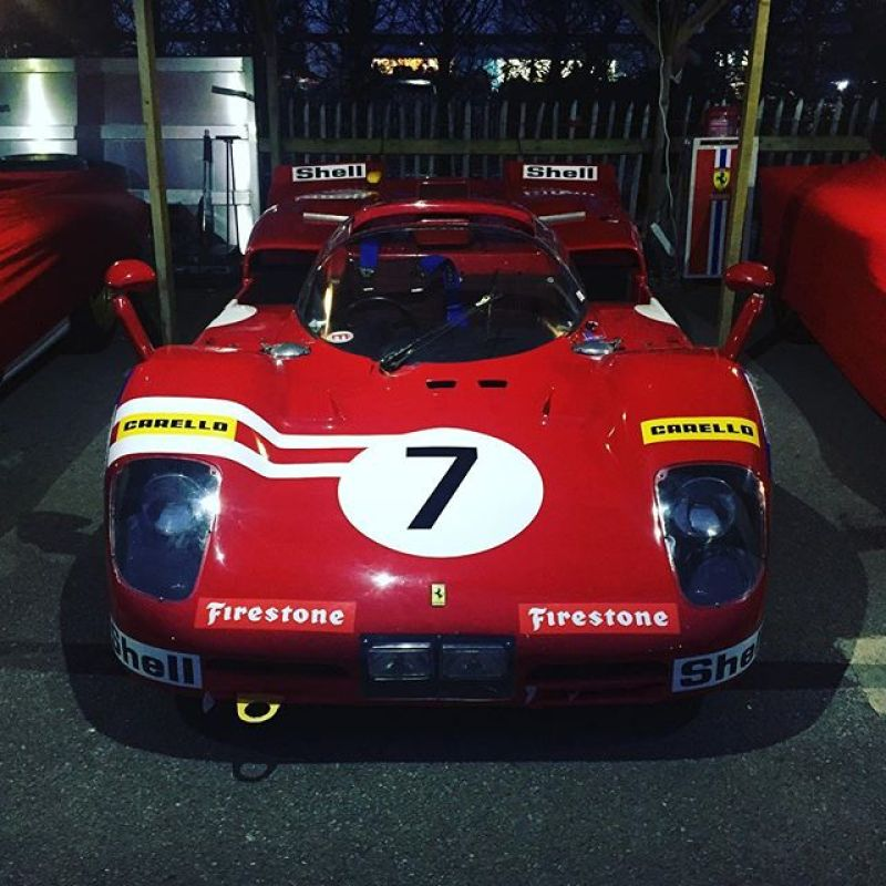 One of our favourite Ferrari race cars ever! #ferrari #512s