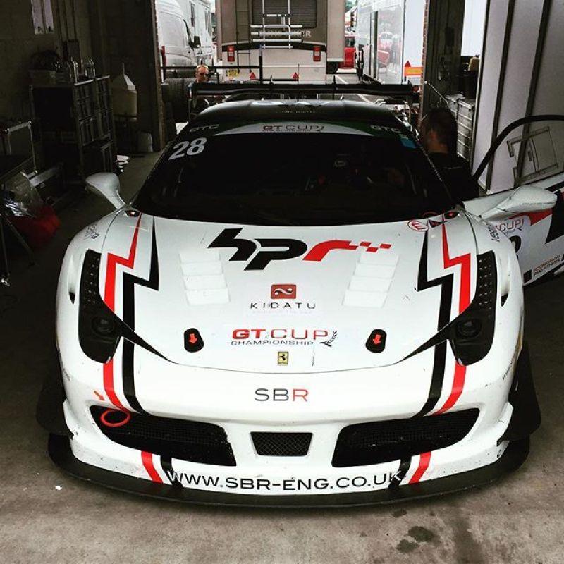 Here we go again! #racinglife #ferrari #458 #458challenge #sbr #sbraceengineering