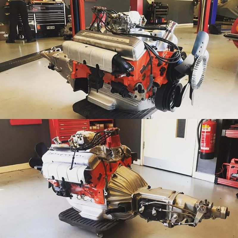 Corvette engine and gearbox rebuild looking very smart!#sbrace #sbraceengineering #corvette #engineering #enginebuild #gearboxrebuild #restoration #iso #grifo