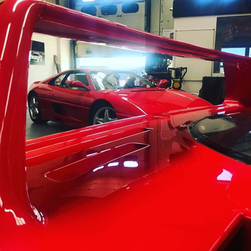 More Red cars...