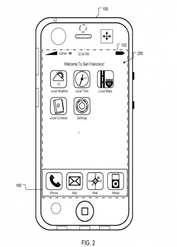 Custom iPhone Home Screen