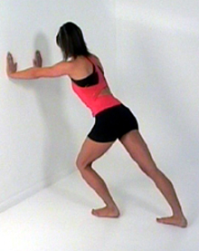 gastrocnemius stretch