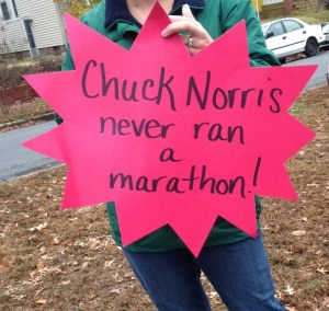Chuck Norris marathon