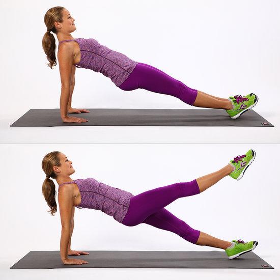 hamstring back plank