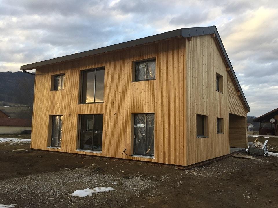 Maison ossature bois à St André