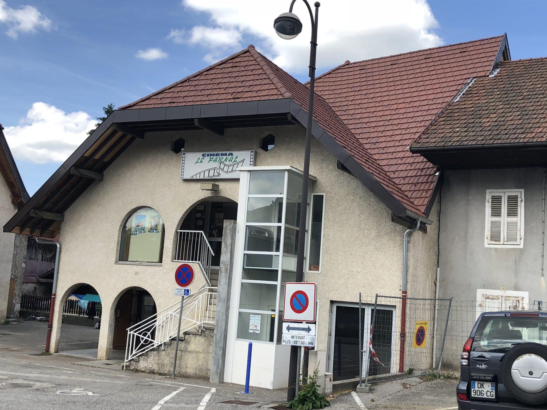 Rénovation Cinéma Le Parnal Thorens