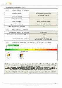 Z AFFAIRES Exec RG-GAUD Administratif, correspondances, CR, minutes Test infiltrometrie MR GAUD P3