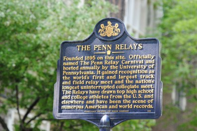 Welcome to the Penn Relays