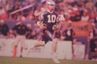 Kenney with the Denver Outlaws