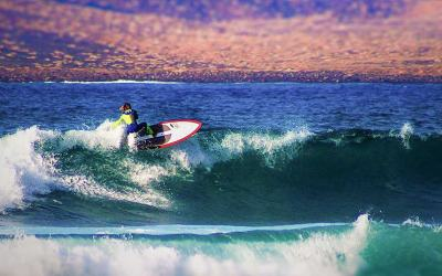 Behind The Scenes Of SBS SUP Promo Video Fuerteventura