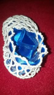 Blue ribbon - before genders were found out.