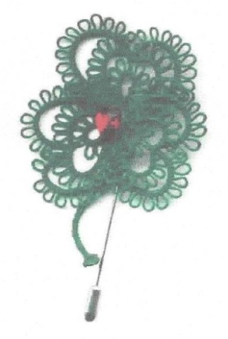 Priscilla's Shamrock with Georgia Seitz Using a picot guage to make measured picots, tatters will create a shamrock motif.