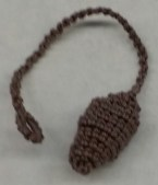 Tatted Bauble with Patty Markley Patty will be teaching how to make a 3D bauble using stabilizing thread.