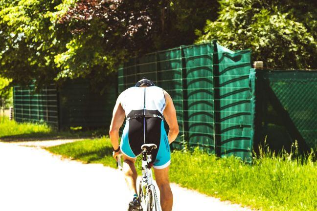 Triathlon Goldener Hut Schifferstadt 2017 - Radfahren