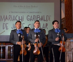Mariachi Garibaldi de Jaime Cuellar. Photo by Mike Imwalle.