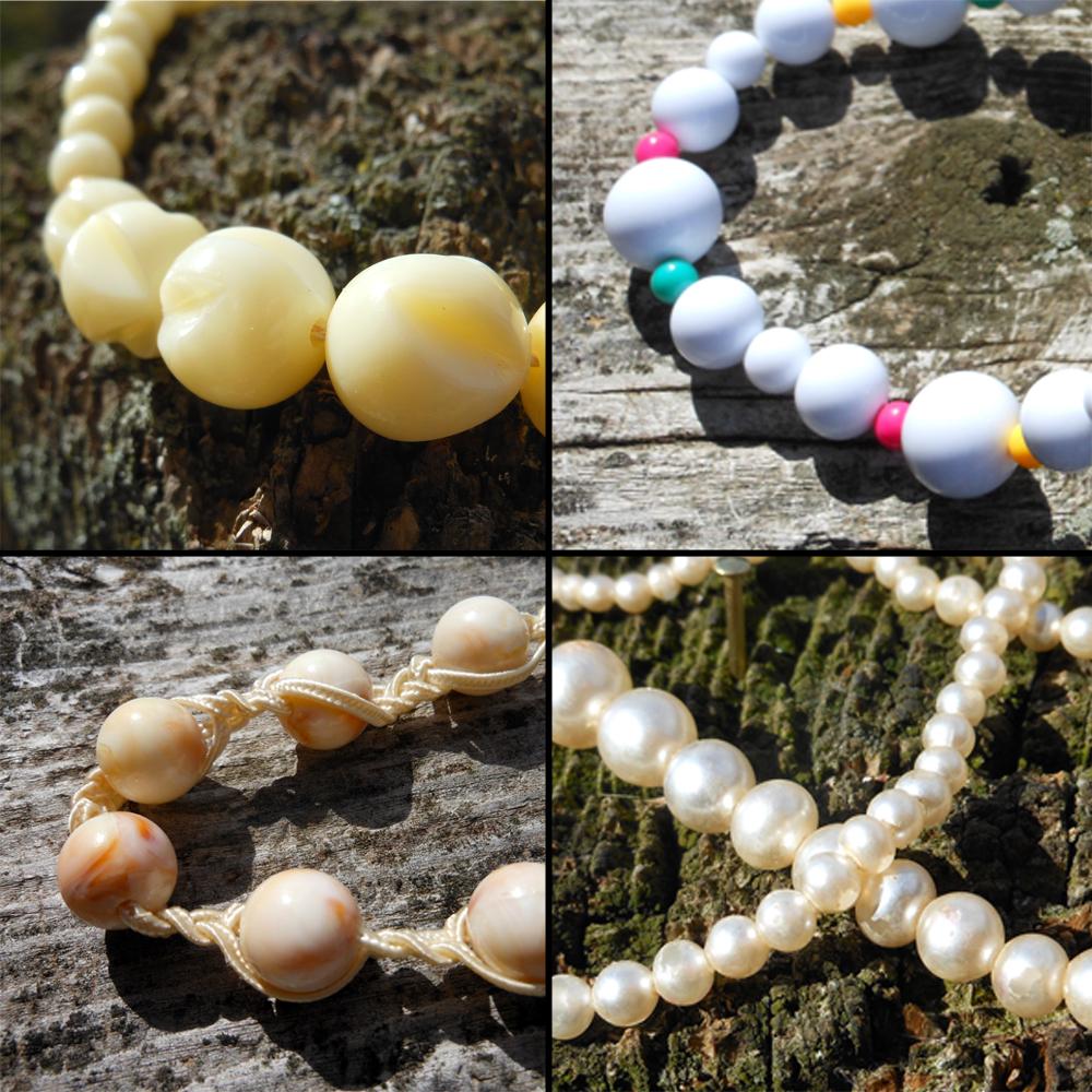 Single Strand Vintage Necklaces