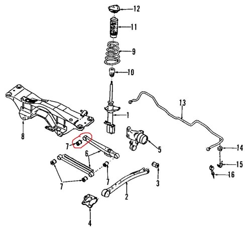 small resolution of 1997 subaru forester exhaust diagram