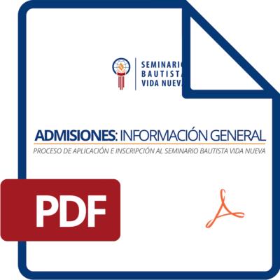 Admisiones: Información General