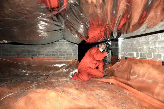 Artikel Cobouw: NIBE: isoleren met lucht en kussens meest milieuvriendelijke vorm van vloerisolatie