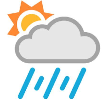 rain ends