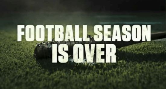 football is over