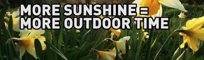 more sunshine